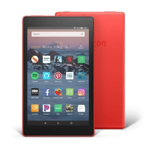 "AMAZON All-New Fire HD 8 Tablet, 8""16GB, Red, 2018-with ads"
