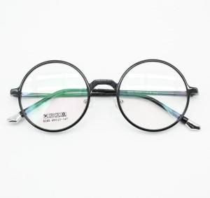Frame Kacamata Minus Fashion Korea NS9678 Bulat Pria Wanita Hitam
