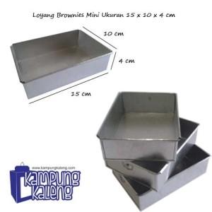 Loyang Brownies Mini Ukuran 15 cm