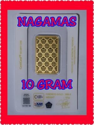 Jual New Logam Mulia Lm Emas Batangan Antam 10 Gram New Product