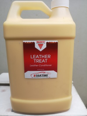 Leather Treat - Leather Conditioner 3.7 Liter Mark V USA