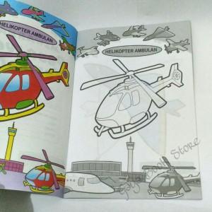 Jual Buku Mewarnai Pesawat Terbang Untuk Paud Tk Kecil Dki Jakarta Tokojayasaputra12 Tokopedia