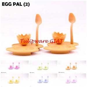 Egg Pal Tulipware Isi 2 - Tempat Makan Telur Rebus