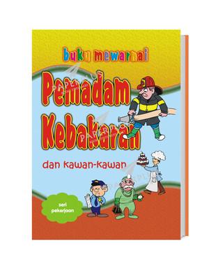 Jual Buku Mewarnai Profesi Pemadam Kebakaran Kota Tangerang Selatan Paperplus Tokopedia