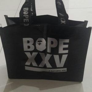 Plastic bag BAPE XXV original from japan BAPE store