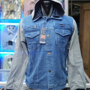 82+ Model Jaket Jeans Kombinasi Sweater Paling Keren