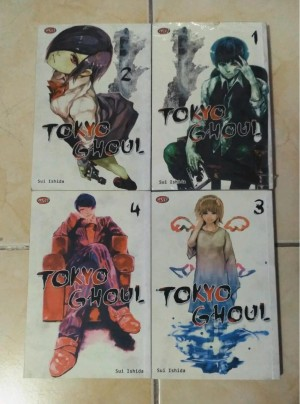 Tokyo Ghoul 4vol By. Sui Ishida - Ongoing
