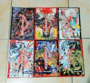 Ayashiya The Demon Slayer 6vol By. Mutsumi Banno - Ongoing