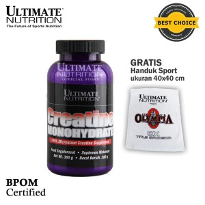 Creatine Monohydrate, 300 gr - Ultimate Nutrition Official