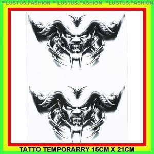 12 x Mini Robots Temporary Tattoos