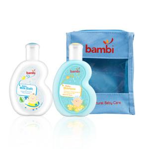 Bambi Baby Milk Bath 100ml + Bambi Baby Shampoo 100ml