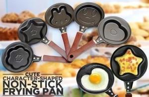 Teflon Mini Non Stick Frying Fry Pan Wajan Karakter Motif