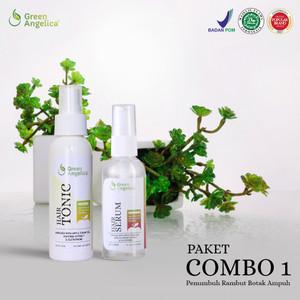 Paket Penumbuh Rambut, Serum Anti Rambut Rontok