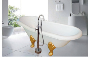 Bathtub Standing ROMANCE - free avur+kran Mixer dan Shower+Tissue box