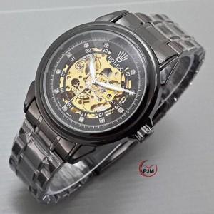 Rolex Skeleton Full Black List Diamond