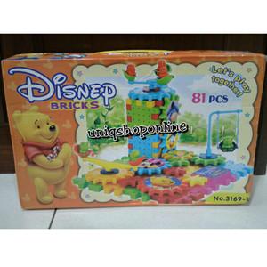Disney Bricks Gear Toy 81 pcs