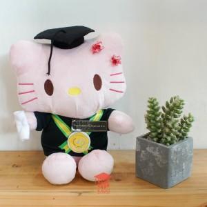 Boneka Wisuda Hello Kitty Kado Wisuda Jogja - Pink