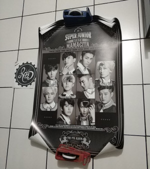 [READY STOCK] Official Poster Super Junior Mamacita A