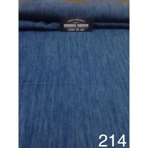 214 - Jual Bahan Jeans / Denim Blue Navy Non Strech Washed