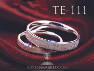 CINCIN TUNANGAN DAN NIKAH PERAK MURAH TE- 111