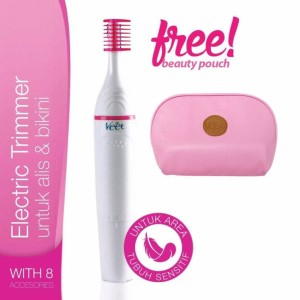 Veet Sensitive Touch Electric Trimmer FREE Pouch