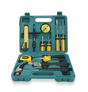 Tool Box Set 12 in 1 Kunci Set Alat Pertukangan Multifunction Hardware