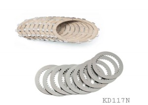 CNC RACING KIT DUCATI OEM CLUTCH - FRICTION AND STEEL DISC   KD117N