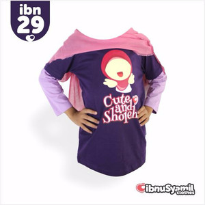 Kaos Anak Karakter Islami Syar'i IbnuSyamil Clothes IBN29