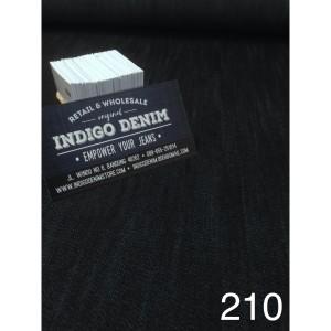 210 - Jual Bahan Denim Dark Blue Coating Non Strech