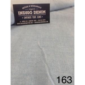 163 - Jual Bahan Chambray Light Blue Non Strech Tipis