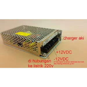 Charger Aki 12V 7A Sistem Seperti UPS Fitur Auto Switch