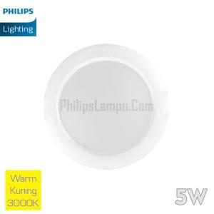 Lampu Downlight LED Philips 5W 59261 Eridani Warm White Kuning