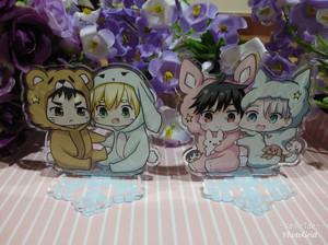 on Ice Victor /& Yuuri BL Anime Stand Acrylic Charm Desk Deco Collection Yuri!!