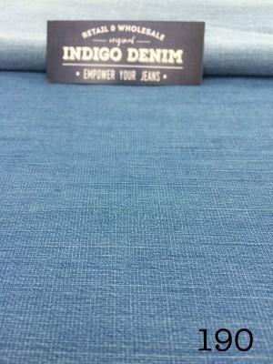 190 - Jual Bahan Jeans Denim Light Blue Non Strech Washed Tipis