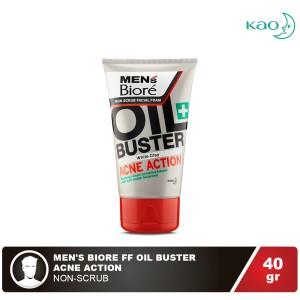 MEN'S BIORE Facial Foam Oil Buster 40 gr