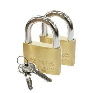 Paket Padlock / Gembok CISA Locking Line | GMB 21010-60 BRS