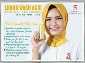 Shineskin wash acid
