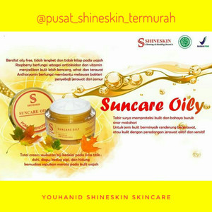 Shineskin suncare oily