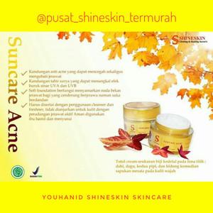 Shineskin suncare acne