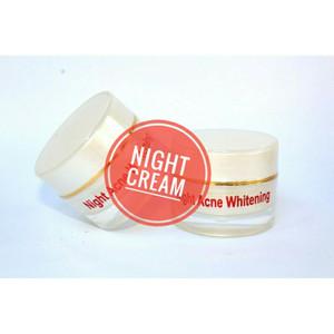 Shineskin night acne white (racik)