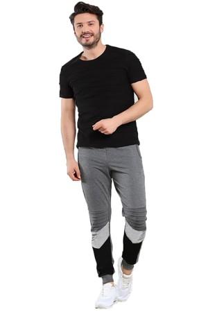 Okechuku VICTOR Celana Joger Basic Fashion Pria Kombinasi Warna