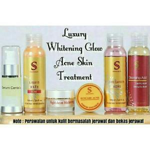 Shineskin paket exlusive acne white glow