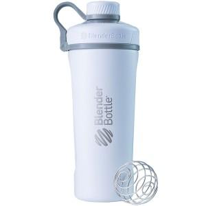Blender Bottle Radian Insulated Stainless Steel Tumbler Shaker White
