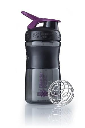 Mini SportMixer Shaker Whey Susu Botol Black Plum