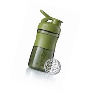 Mini SportMixer Shaker Whey Susu Botol Moss Green