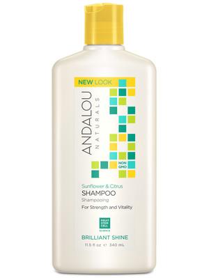 Andalou Sunflower & Citrus Brilliant Shine Shampoo
