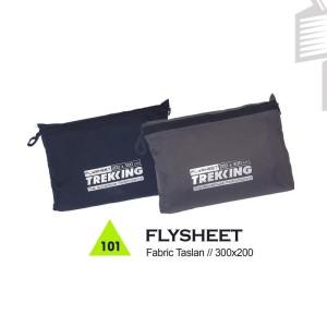Flysheet Gunung / Hiking / Adventure Trekking  - FLYSHEET
