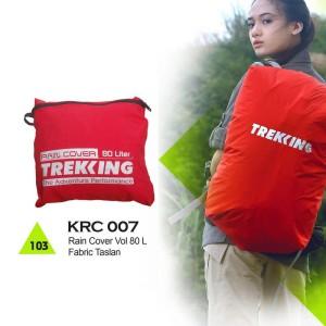 Rain Cover Tas Gunung / Hiking / Adventure Trekking 80 Liter - KRC 007