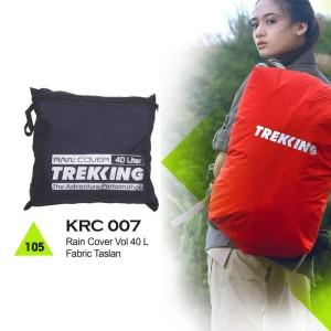 Rain Cover Tas Gunung / Hiking / Adventure Trekking 40 Liter - KRC 007