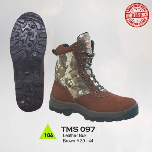 Sepatu Gunung / Hiking / Boot / Adventure Pria - TMS 097